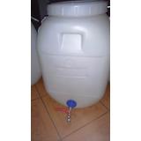 Bidon  Agua Compost 60 Lts Llave Metalica Oferta Abril