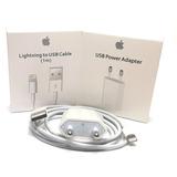 Cargador iPhone + Cable Lightning Productos Originales Apple