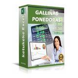 Sistema Herramienta Excel Gestión De Gallinas Ponedora Huevo