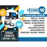 Reparación Y Servicio Técnico A Domicilio Mac/pc