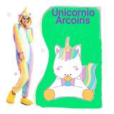 Pijama Kigurumi Unicornio Arcoiris