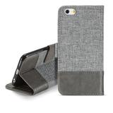 Muxma Mx102 - Funda Para iPhone 6 (piel, Con Función Atril,