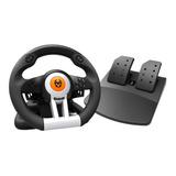 Kit Volante Con Pedales Krom K-wheel Ps4 Xbox One Pc