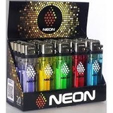 Encendedor Neon Transparente, 100 Unidades / Mt