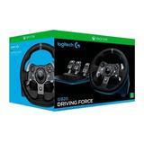 Volante Gamer Logitech G920 + Pedales Xbox One/pc Revogames
