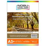 Papel Foto Glossy Brillante Nobucolor A3+ 135 Gr. 50 Hojas