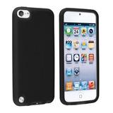 Case Funda Protector Silicona iPod Touch 5 Negro Transparent