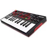 Akai Mpk Mini Play- Controlador Midi Usb Sonidos Y Parlante