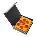 Esferas Del Dragon Dragon Ball Z 4.5 Cm Set Con Caja