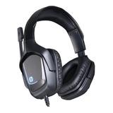 Audífono Gamer Hp-220s, Negro, Electrotom