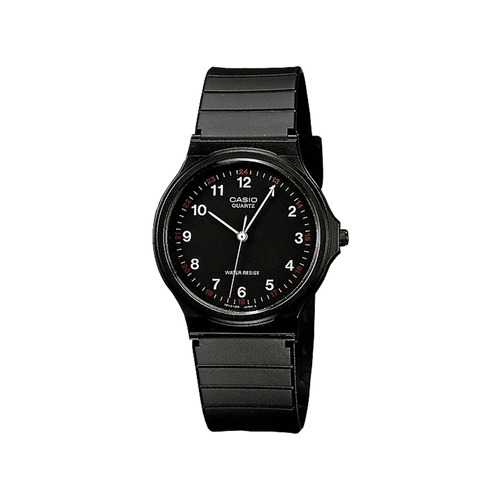 c9aac32b58ce Reloj Casio Unisex Negro Mq-24-1bldf