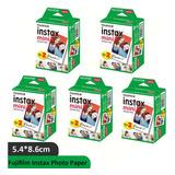 100 Fotografías Fujifilm Instax Mini Iso 800 Cartucho De Ti