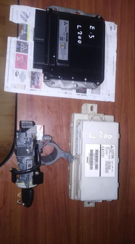Kit Encendido Mitsubishi L200 Euro 5 Chapa Llave,etacs, Ecu