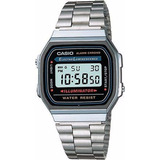 Reloj Casio A-168wa-1 Nuevo Original Gocyexpress