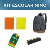 Vuelta A Clases/kit Escolar/niño
