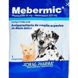 Mebermic 2 Und Antiparasitario Interno Para Perros Gatos