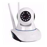 Camara Robotizada 2 Antenas Ip De Seguridad Wifi Hd