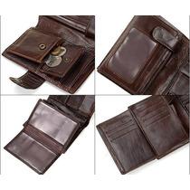 8aa991de5 Billetera Bogesi 100% Cuero Original Moderna Exclusivo · $ 8.990,00 · Billetera  Cuero Café Monedero (hombre) + 2 Protectores Rifd