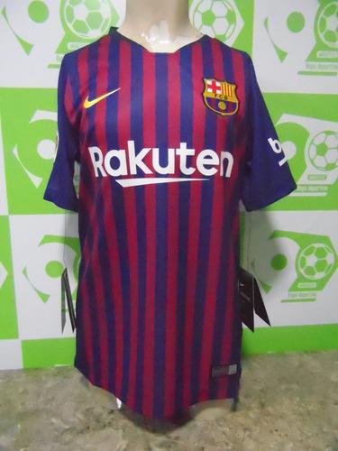 cffc8ad51b60f Camiseta Barcelona 2018-2019 Local Niño Nueva Original Nike