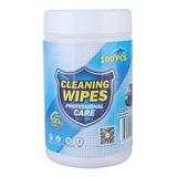100 Toallitas De Limpieza Desinfectantes Para Tabletas, Orde