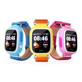 Smartwatch Reloj Para Niños Q90  Momo Con Gps Original!!