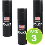 Pack 3 Gas Pimienta Defensa Personal Spray 06495 / Fernapet
