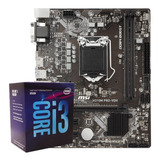 Kit Intel Procesador I3-8100 + Placa Msi H310m Pro Vdh Plus