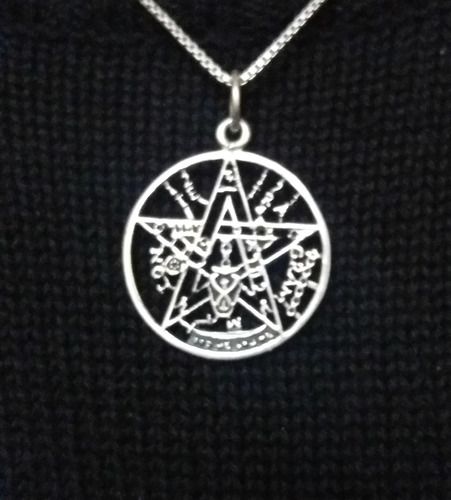 849f318b0dff Medalla Tetragramaton (tetragrammaton) Plata Envejecida 3 Cm