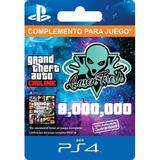 $8.000.000 Dinero Gta V Online - Ps4 - 100% Seguro