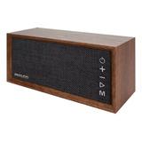Parlante Vintage Madera Bluetooth  Usb - Microsd - Fm