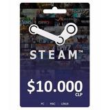 Steam Wallet Card $10.000 [ Código Digital ]