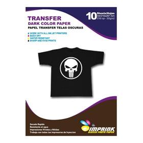Papel Transfer Telas Oscuras A3/10 Hojas. Envio Gratis X 2un