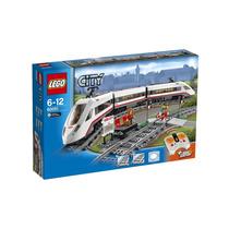 Lego Juego Tren De Pasajeros De Alta Velocidad