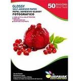 Papel Foto Adhesivo Brillante A4/135 50h Envío Gratis X 5und