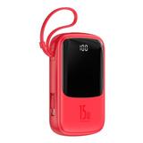 Batería Externa Para iPhone De 10.000mah Baseus Qpow
