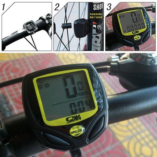 4cd20efb7 Odometro, Velocimetro Para Bicicleta Wireless / Importhans