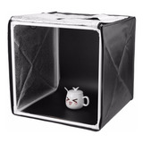 Estudio Fotografico Caja Luz Softbox Portatil 40 X 40cm/ Pix