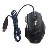 Mouse Usb Optico Gamer Retroiluminado 3200dpi
