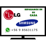 Servicio Tecnico Tv Led Lg Samsung-domicilio - Reparacion Tv