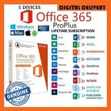 Te Enviamos De Inmediato Tu Offic 365 Pro Plus Original 5 Pc