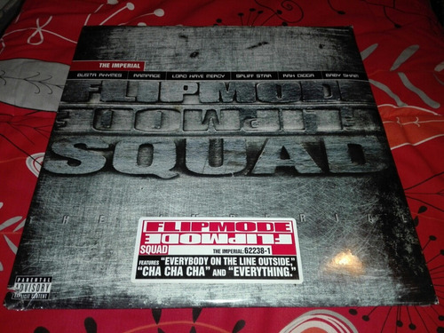 Flipmode Squad - The Imperial Vinilo Rap 1ra Edicion