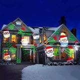 Luces Led Proyector 12 Tarjetas Navidad Halloween + Envío