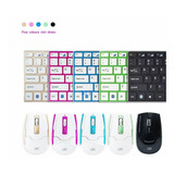 Kit Teclado Y Mouse Inalambrico Colores Premium - Prophone