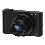 Sony Dsc Wx500 Black Cámara Compacta Con Zoom Óptico De 30x