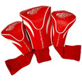 Nhl Detroit Red Wings 3 Paquete De Contorno Headcovers