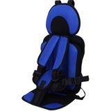 Silla Azul De Seguridad Infantil Portátil Para Auto