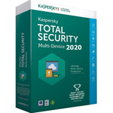 Kaspersky Total Security / 2020 / 1 Dispositivo / 1 Año