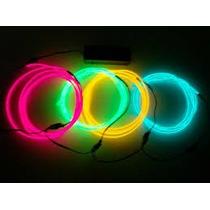 Luz Led Cable Hilo Neon Para Moto Auto Bicicleta O Ropa