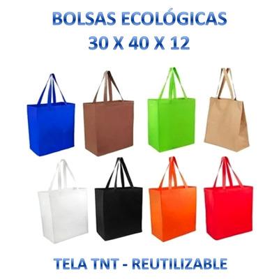 c9b821a95 Compra Pack 100x Bolsa Tnt 30x40x12 + Envío en RM (Metropolitana) a ...