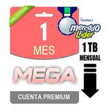 Cuentas Premium Mega 30 Dias 1 Mes Oficial 1024gb Garantia